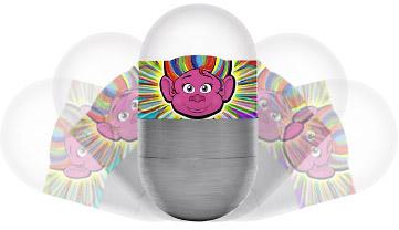 Trolls Of Fun Tipsy Wobbler Light