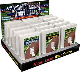 Football Night Light Switch